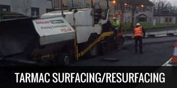 tarmac surfacing and resurfacing